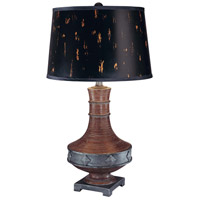 Minka-Lavery Signature 1 Light Table Lamp in Dark Expresso 10318-0