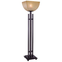 Minka-Lavery Lineage 1 Light Table Lamp in Iron Oxide 10350-357