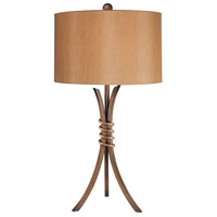 Minka-Lavery Signature 1 Light Table Lamp in Belcaro Walnut 10541-126