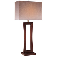 Minka-Lavery Signature 1 Light Table Lamp in Metropolitan Cherry 10710-625