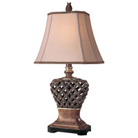 Minka-Lavery Signature 1 Light Table Lamp in Brown 10835-0