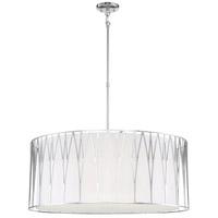 Minka-Lavery 1084-613-L Regal Terrace LED 32 inch Polished Nickel Pendant Ceiling Light