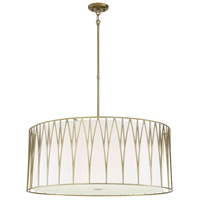 Minka-Lavery 1084-695-L Regal Terrace LED 32 inch Soft Brass Pendant Ceiling Light