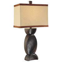 Minka-Lavery Signature 1 Light Table Lamp in Expresso 10851-0