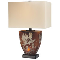 Minka-Lavery Signature 2 Light Table Lamp in Amber 10858-0