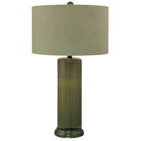 Minka-Lavery Signature 1 Light Table Lamp in Green 10865-1