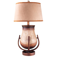 Minka-Lavery Signature 1 Light Table Lamp in Granite Mist 10940-1
