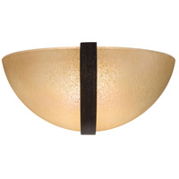 Minka-Lavery Raiden 1 Light Sconce in Iron Oxide 1180-357