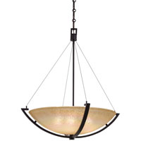 Minka-Lavery Raiden 5 Light Pendant in Iron Oxide 1183-357
