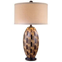 Minka-Lavery Signature 1 Light Table Lamp in Black 12195-0
