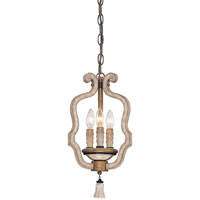 Accents Provence 3 Light Provence Patina Mini Chandelier Ceiling Light
