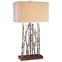 Minka-Lavery Signature 1 Light Table Lamp in Black 12323-66