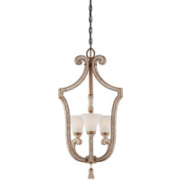 Minka-Lavery Jessica McClintock Accents Provence 3 Light Foyer in Provence Patina 1234-580