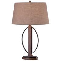 Minka-Lavery 12415-0 Ambience 28 inch 100 watt Aspen Bronze Table Lamp Portable Light Ambience