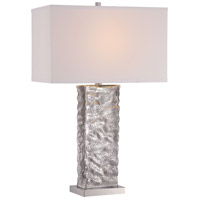 Minka Lavery Signature 1 Light Table Lamp in Polished Nickel 12427-0