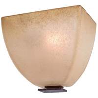 Lineage 1 Light 7 inch Iron Oxide ADA Wall Sconce Wall Light