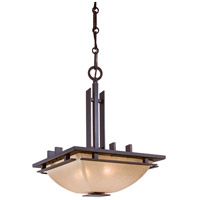 Lineage 2 Light 16 inch Iron Oxide Pendant Ceiling Light