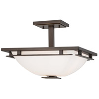 Minka-Lavery Lineage 2 Light Semi-flush in Smoked Iron 1279-172