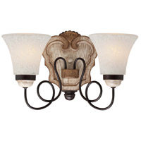 Jessica McClintock Accents Provence 2 Light 15 inch Provence Patina Bath Wall Light