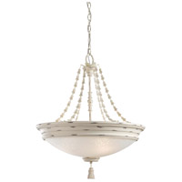 Accents Provence 4 Light 23 inch Provencal Blanc Bowl Pendant Ceiling Light