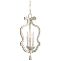 Minka-Lavery 1296-648 Jessica McClintock Accents Provence 3 Light 12 inch Provencal Blanc Pendant Ceiling Light photo thumbnail