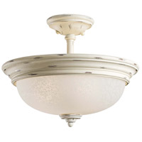 Minka-Lavery Jessica McClintock Accents Provence 3 Light Semi-flush in Provencal Blanc 1298-648