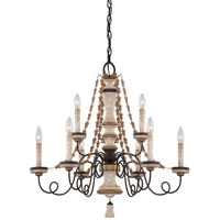 Minka-Lavery Jessica McClintock Accents Provence 9 Light Chandelier in Provence Patina 1299-580