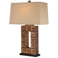 Signature 28 inch 100 watt Bronze Table Lamp Portable Light