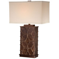 Minka-Lavery Signature 1 Light Table Lamp in Bronze And Dry Brush Gold 13026-0