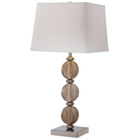 Minka-Lavery Signature 1 Light Table Lamp in Brushed Nickel 13032-0