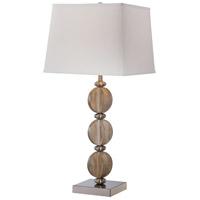 Minka-Lavery 13032-0 Signature 31 inch 100 watt Brushed Nickel Table Lamp Portable Light
