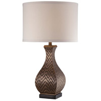 Minka-Lavery Signature 1 Light Table Lamp in Metallic Polished Brass 13037-0