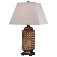Minka-Lavery Signature 1 Light Table Lamp in Bronze 13039-0