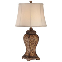 Minka-Lavery Signature 1 Light Table Lamp in Brown 13040-0
