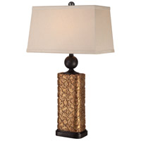 Minka-Lavery Signature 1 Light Table Lamp in Bronze 13045-0