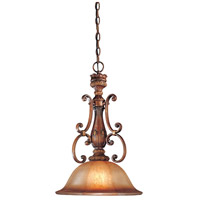 Illuminati 1 Light 15 inch Illuminati Bronze Pendant Ceiling Light