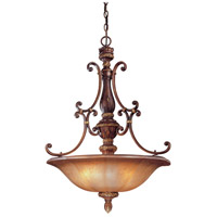 Illuminati 4 Light 26 inch Illuminati Bronze Pendant Ceiling Light