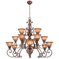 Minka-Lavery Hearst Castle Illuminati 15 Light Chandelier in Illuminati Bronze 1359-177