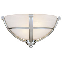 Minka-Lavery 1420-84 Paradox 2 Light 13 inch Brushed Nickel Wall Sconce Wall Light