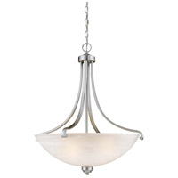 Minka-Lavery Paradox 4 Light Pendant in Brushed Nickel 1422-84
