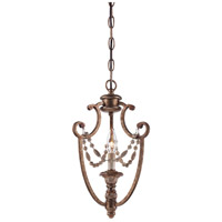 Minka-Lavery Cornerstone 1 Light Mini Pendant in Pierre Patina 1471-562