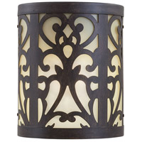 The Great Outdoors by Minka Nanti 1 Light Outdoor Pocket Lantern in Iron Oxide 1490-A357-PL