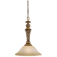 Minka-Lavery Jessica McClintock Home Salon Grand 1 Light Pendant in Florence Patina 1551-477