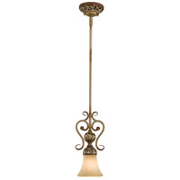 Jessica McClintock Home Salon Grand 1 Light 6 inch Florence Patina Mini Pendant Ceiling Light