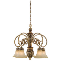 Minka-Lavery Jessica McClintock Home Salon Grand 5 Light Chandelier in Florence Patina 1575-477