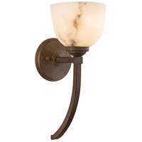 Minka-Lavery 1680-14 Calavera 1 Light 6 inch Nutmeg Sconce Wall Light photo thumbnail