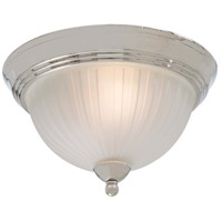 Minka-Lavery 1730 Series 2 Light Flushmount in Polished Nickel 1730-613