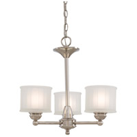 Minka-Lavery 1733-613 1730 Series 3 Light 19 inch Polished Nickel Mini Chandelier Ceiling Light photo thumbnail