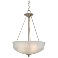 Minka-Lavery 1730 Series 3 Light Pendant in Polished Nickel 1737-1-613