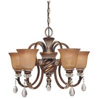 Minka-Lavery 174-206 Aston Court 5 Light 27 inch Aston Court Bronze Chandelier Ceiling Light